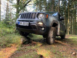 Grundlegende Information Jeep Renegade im Test und Vergleich