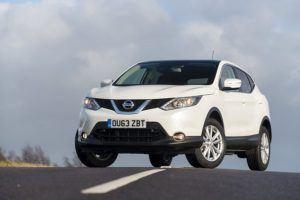 Die genaue Serienausstattung von einem Nissan Qashqai im Test und Vergleich?