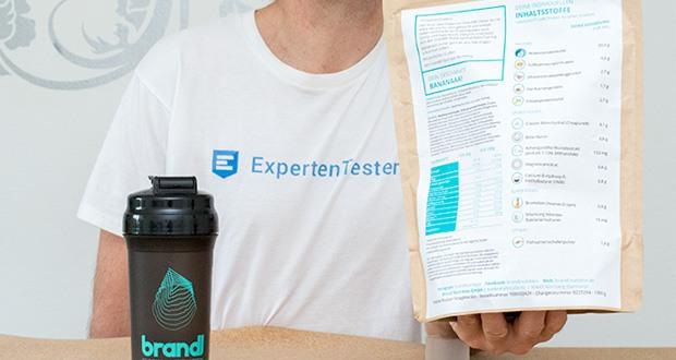Brandl Muskelaufbau Shake im Test - enthält basierend auf deinen Antworten für dich persönlich ausgewählte Inhaltsstoffe, die Du brauchst - nicht mehr und vor allem nicht weniger