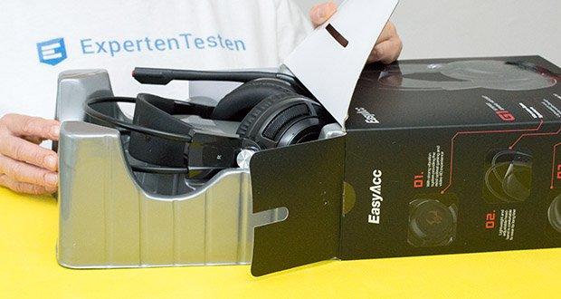 EasyAcc G1 Gaming Headset Kopfhörer mit Virtual 7.1 Surround-Sound