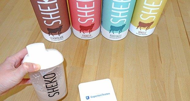 SHEKO Eiweißpulver im Test - der Premiumshake für ernährungsbewusste Genießer & Trendsetter