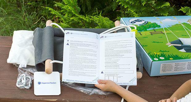 small-foot Babyschaukel Komfort im Test - max. Belastbarkeit 60 kg