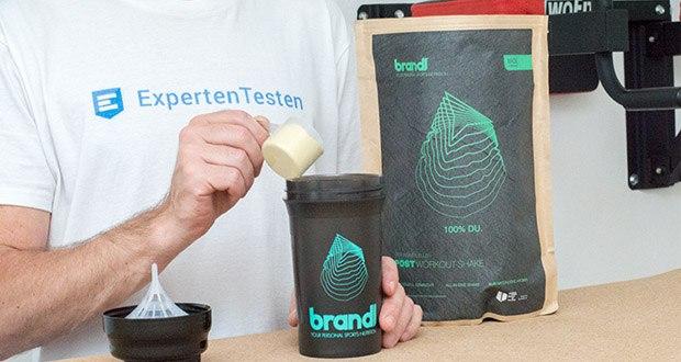 Brandl Muskelaufbau Shake im Test - nach dem Kauf mischt Brandl umgehend in Deutschland deinen Shake für dich zusammen