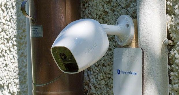 Vacos Akku WLAN Security Kamera im Test - eingebauter 16 GB integrierter und sicherer Cloud-Speicher