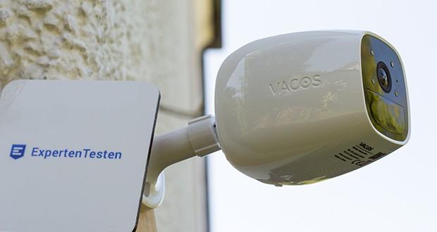 Vacos Akku WLAN Security Kamera im Test - Anzeigen und Aufzeichnen von 2-Megapixel-Full-HD-Bildern