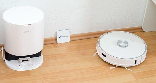 Neabot NoMo Staubsaugerroboter mit automatischer Absaugstation im Test