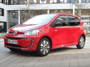 Kriterien aus einem VW e-up Test und Vergleich