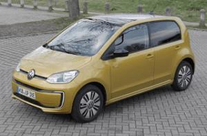 Sicherheit des VW e-up im Test