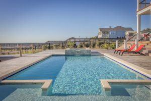 Wo ist der Pool am besten aufgebaut?
