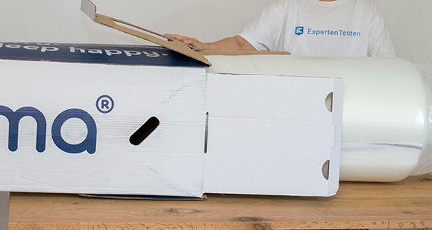 Emma One Matratze 140x200 im Test - der Schaum und der Bezug haben ihren Ursprung in Deutschland und bei ausgewählten Partnern aus dem europäischen Umland