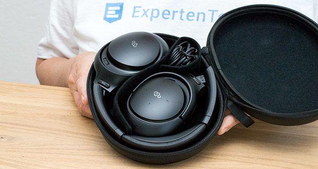 Mu6 Space 2 Bluetooth Kopfhörer im Test - automatische Pause und Wiedergabe