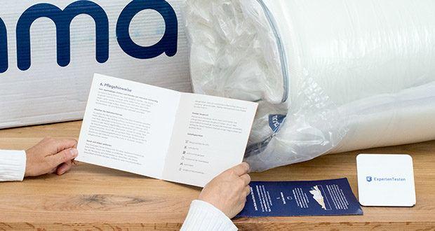 Emma One Matratze 140x200 im Test - dank der langlebigen Materialien, die bei der Herstellung der Emma One verwendet werden, bietet Dir die Matratze eine lange Nutzungsdauer ohne Qualitätsverlust