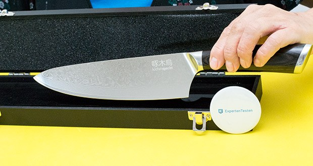 küchenspecht Kochmesser aus Damast Stahl im Test - 20cm Klinge