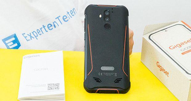 Gigaset Outdoor Smartphone GX290 im Test - das Outdoor Handy ist wasserdicht, staub- und stoßfest (IP68 Standard) dank Gorilla-Glas und Metallrahmen
