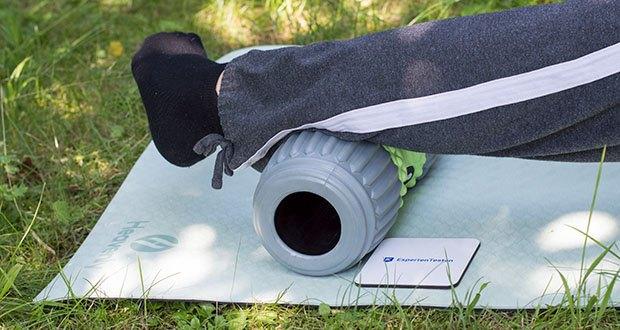 Heavenly Yogamatte Gymnastikmatte im Test - kann als Bodenmatte für Yoga, Pilates, Gymnastik, Rückentraining sowie Sport- und Entspannungsübungen verwendet werden