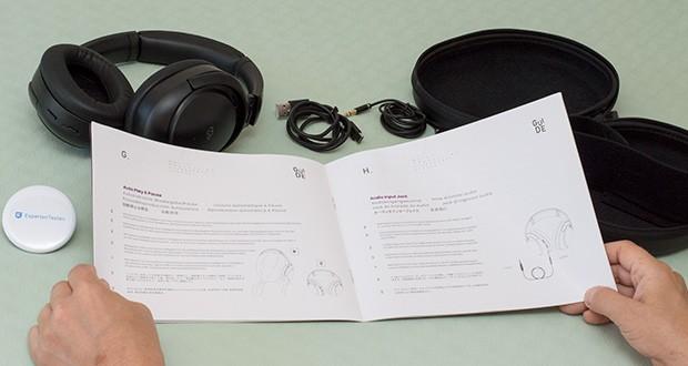Mu6 Space 2 Bluetooth Kopfhörer im Test - aktivieren Sie den Sprachassistenten Siri oder Alexa mit zwei Drücken der ANC-Taste und verwalten Sie Ihre Musik und Ihr Telefon, ohne Ihre Hände zu benutzen