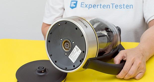 STEPLER LED-Glas-Wasserkocher 1,8 Liter im Test - Überhitzungs- und Trockenlaufschutz gewährleisten einen sicheren Betrieb