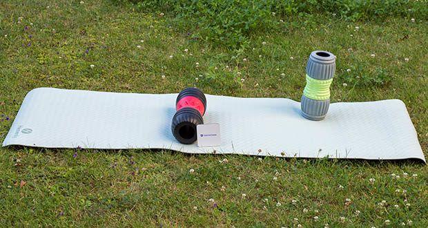 Heavenly Yogamatte Gymnastikmatte im Test - Größe: 182,9cm lang, 61 cm breit, 0,64 cm dick