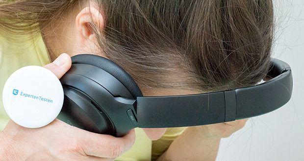 Mu6 Space 2 Bluetooth Kopfhörer im Test - das ergonomische Design passt genau in Ihre Ohren und sorgt für eine nahtlose Abdichtung zur Unterdrückung von Außengeräuschen und maximalen Hörkomfort