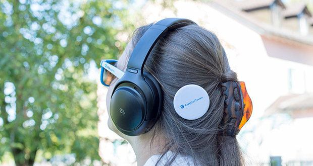 Mu6 Space 2 Bluetooth Kopfhörer im Test - verwendet einen speziellen hochdichten Memory-Schaum in der Ohrhörerpolsterung, um Geräusche zu isolieren