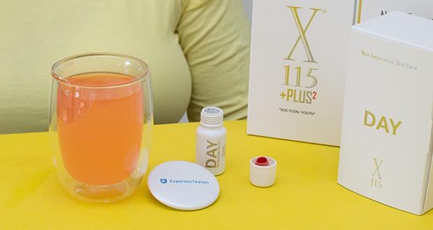 X115+Plus Skin Care Set im Test - dank seiner starken antioxidativen Wirkung trägt es außerdem zum Schutz der Zellen vor oxidativem Stress bei und wirkt so einer der Hauptursachen für die vorzeitige Hautalterung entgegen
