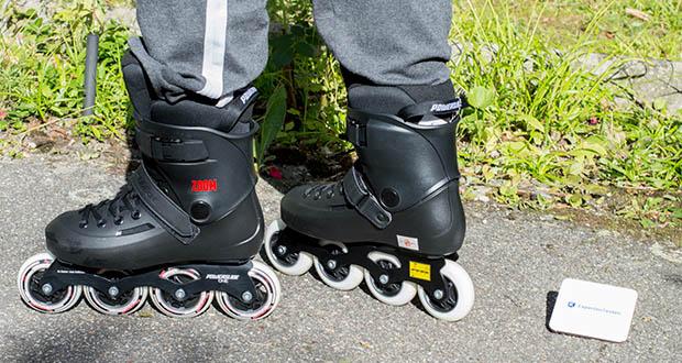 Powerslide Inlineskates Zoom Black 80 im Test - Produkte von Powerslide werden von den weltbesten Skatern getestet und genehmigt