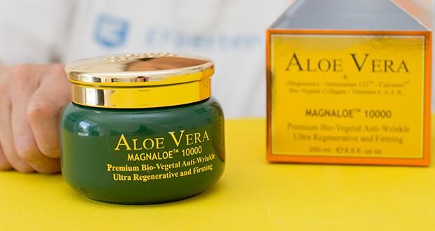 Canarias Cosmetics Magnaloe 10000 Antifaltencreme im Test - Anti Wrinkle & Regenerating Creme