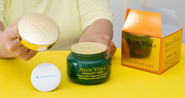 Canarias Cosmetics Magnaloe 10000 Antifaltencreme im Test - Antifaltencreme zur Regeneration und Straffung der Haut bei Tag und Nacht