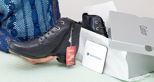 Gabor Damen Comfort Basic Stiefeletten im Test - Obermaterial: Leder, Innenmaterial: Textil, Sohle: Gummi