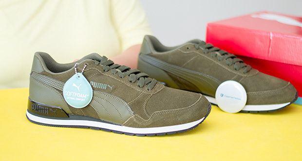 PUMA ST Runner V2 SD Sneaker im Test - Obermaterial: Leder