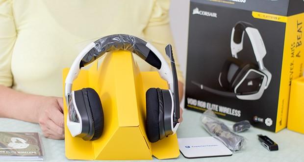 Corsair Void Elite RGB Gaming Headset im Test - intensiver 7.1-Surround-Sound