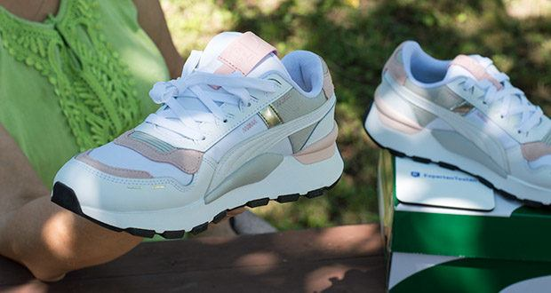 PUMA RS 2.0 Futura Sneaker im Test - Overlays in Wildleder-Optik