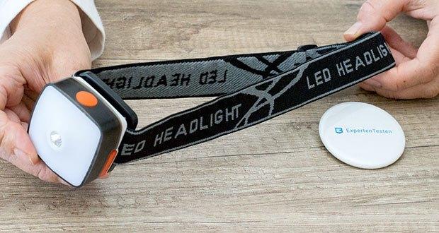 Chilitec LED-Stirnlampe Headlight CTX5 im Test - ca. 6 Std. Leuchtdauer mit einer Ladung