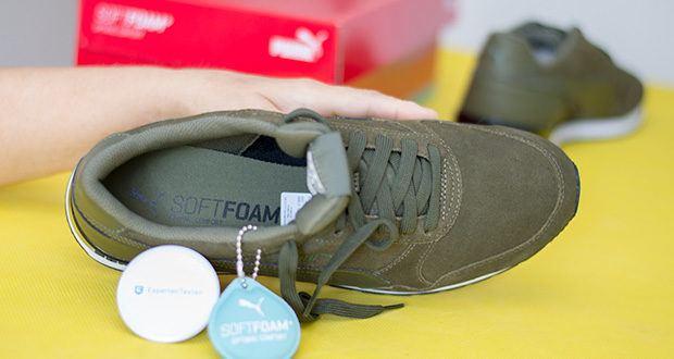 PUMA ST Runner V2 SD Sneaker im Test - man kann die Innensohle herausnehmen