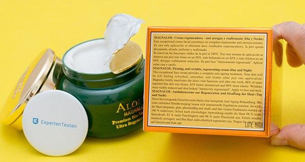 Canarias Cosmetics Magnaloe 10000 Antifaltencreme im Test - angereichert mit Magnesium, Kalzium und pflanzlichem Kollagen