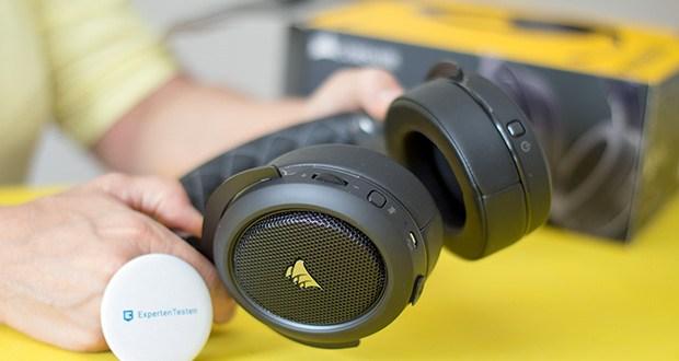 Corsair HS70 Pro Wireless Gaming Headset im Test - 2,4-GHz-Drahtlosverbindung mit niedriger Latenz