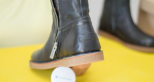 Shabbies Amsterdam Damen Alissa Stiefeletten im Test - Schuhweite: Schmal