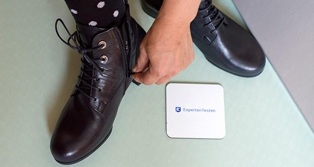 Gabor Damen Comfort Basic Stiefeletten im Test - leichtes Ein- und Aussteigen durch seitlichen Reißverschluss