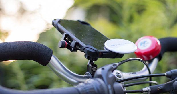 Pro Mount 360 Fahrrad Handyhalterung im Test - maximaler Halt durch eine ausgefeilte Mechanik und zusätzlichem Sicherheitsgummi