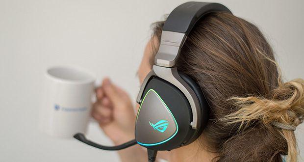 ASUS ROG Delta Gaming Headset im Test - mit einem beeindruckenden Signal-Rauschabstand (SNR) von 127dB