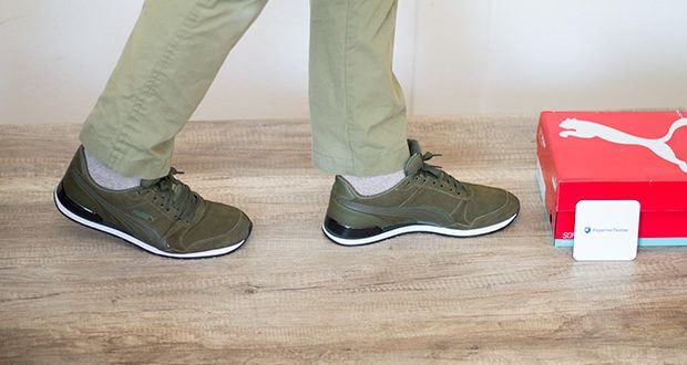 PUMA ST Runner V2 SD Sneaker im Test - die Passform ist hervorragend