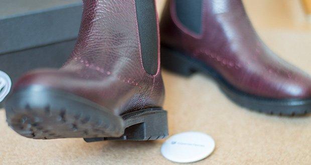 Fred de la Bretoniere Damen Stephanie Chelsea Boots im Test - Absatzhöhe: 3 cm