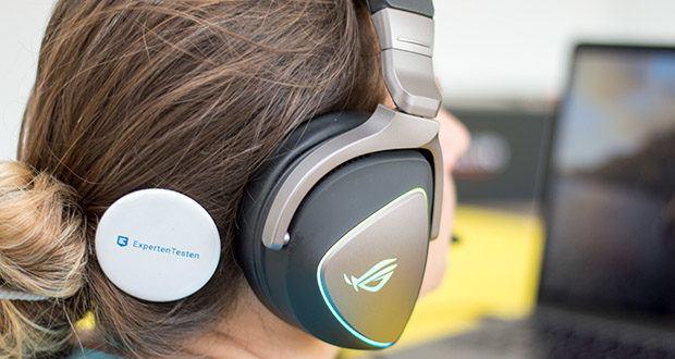 ASUS ROG Delta Gaming Headset im Test - exklusive Asus-Essence-Treiber sowie die luftdichte Resonanzkammer- und Audiosignal-Diversion-Technologie sorgen für ein immersives Klangerlebnis