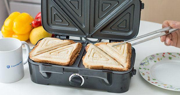 Decen Sandwichmaker im Test - 3-in-1 Waffeleisen / Sandwichmaker / Sandwichgrill mit Antihaftbeschichtung
