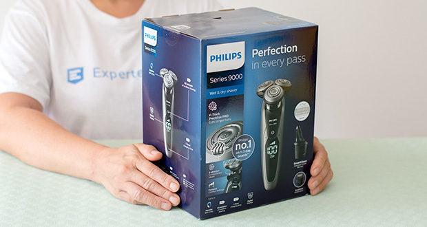 Philips S9711/31 Elektrischer Nass-und Trockenrasierer im Test - AquaTech (nass & trocken)