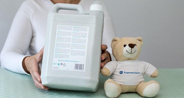 Ecover Ökologischer WC-Reiniger Tannenduft im Test - Inhaltsstoffe: - >30%: Wasser; <5%: nichtionische Tenside*, Zitronensäure (auf pflanzlicher Basis), Zitrat, Xanthaangummi, Duftstoff (Note: Tanne; enthält Limonene, Linalool), Konservierungsmittel (0,2%)