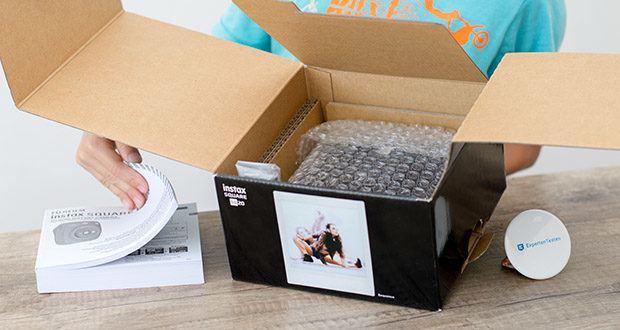 Fujifilm instax SQUARE SQ 20 Hybride Sofortbildkamera im Test - Motion-Aufnahmemodus für bis zu 15s Videoclips