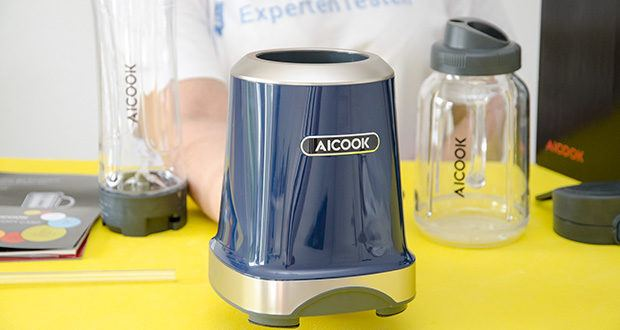 AICOOK Smoothie Maker im Test - maximale Leistung von 300 Watt (Hohe Drehzahl 24000 U/min)
