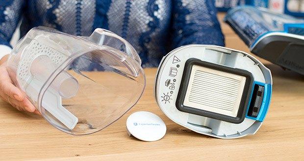 BISSELL 2225N Crosswave Pet Pro 3-in-1 Bodenreiniger im Test - der beigefügte Haustierhaar-Filter ermöglicht einfaches Reinigen