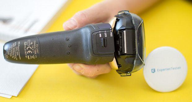 Panasonic ES-LV67-A803 Nass/Trocken-Rasierer im Test - der kraftvolle Neodym-Magnet sorgt für noch mehr Leistung und ermöglicht somit bis zu 70.000 Schneidebewegungen pro Minute